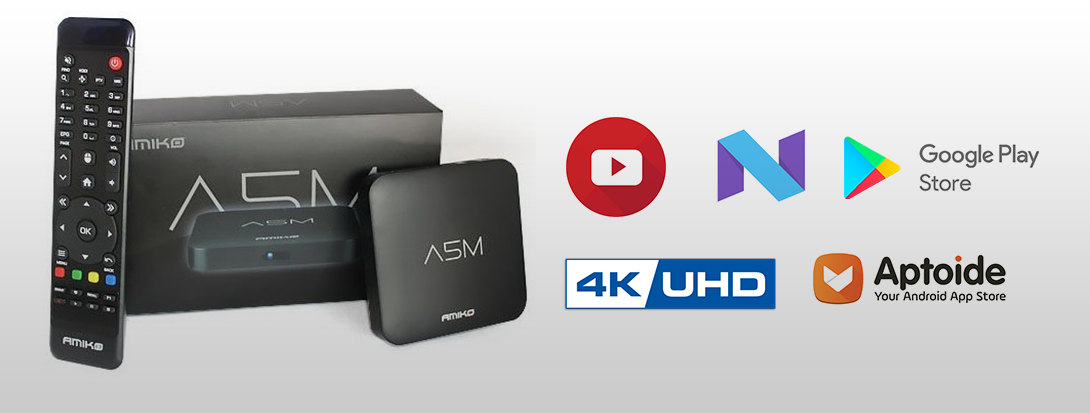 Amiko A5M Android 7 1 MYTV - BRAND NEW AMIKO A5M | ANDROID