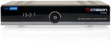 OCTAGON SF8008 4K UHD Linux Enigma 2 H 265 HEVC DVB-S2X Multi-Stream